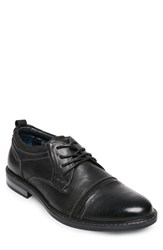 Steve Madden O'leary Cap Toe Derby Black Leather