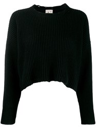 L'autre Chose Cropped Ribbed Jumper 60
