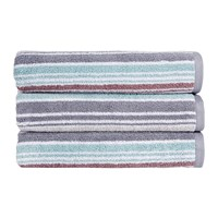 Christy Bamford Stripe Towel Multi Bath Towel
