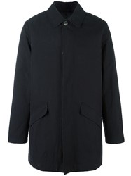 A.P.C. 'Mac Ville' Raincoat Black