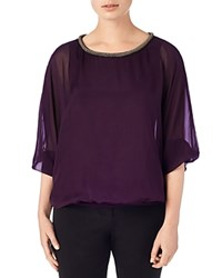 Phase Eight Jessica Beaded Neck Top
