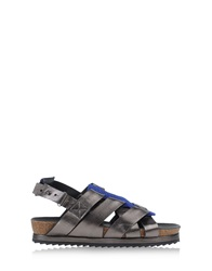 Surface To Air Sandals Steel Grey