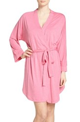 Honeydew Intimates Women's Jersey Robe Heather Pitaya