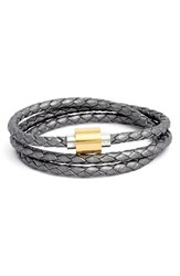 Women's Liza Schwartz 'Sobe Original' Braided Leather Wrap Bracelet
