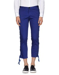 Christian Pellizzari Trousers Casual Trousers Men Bright Blue