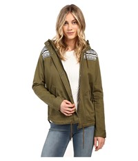 Roxy Winter Cloud Jacket Military Olive Women's Coat