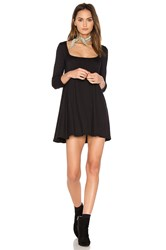 Riller And Fount Hattie Dress Black