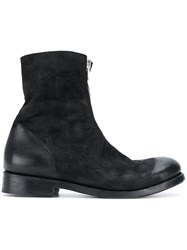 The Last Conspiracy Kirk Boots Horse Leather Leather Black