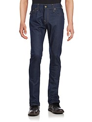 True Religion Rocco Relaxed Fit Cotton Blend Pants Raw
