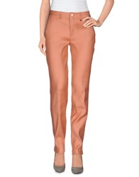 Ter De Caractere Trousers Casual Trousers Women Salmon Pink