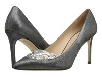 Tory Burch Delphine 85Mm Pump Pewter High Heels