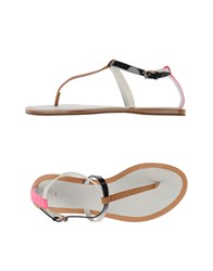 Paul Smith Footwear Thong Sandals Women Camel