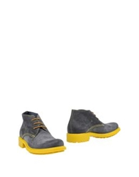 Giallocra High Top Dress Shoes Dark Brown
