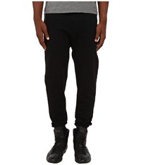 The Kooples Sport Classic Fleece Sweatpants Black Men's Fleece
