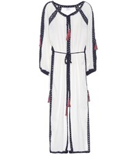 Anna Kosturova Sailor Cotton Dress White