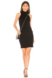525 America X Revolve Mock Neck Sweater Dress Black