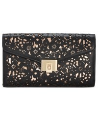 Inc International Concepts Eryn Perforated Clutch Only At Macy's Black