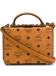 Mcm 'Berlin Series' Tote Nude And Neutrals
