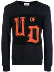 Dondup Patch Sweatshirt Blue