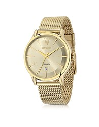 Maserati Epoca Gold Tone Stainless Steel Men's Watch