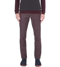 Ted Baker Lommy Classic Fit Trousers Purple