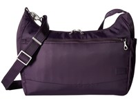 Pacsafe Citysafe Cs200 Handbag Mulberry Weekender Overnight Luggage Purple