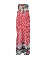 Lavand. Dresses 3 4 Length Dresses Women Red