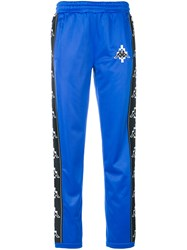 Marcelo Burlon County Of Milan Kappa Track Pants Blue