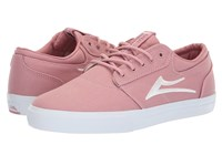 Lakai Griffin Pink Canvas Skate Shoes