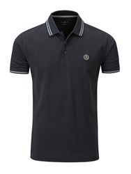 Henri Lloyd Men's Byron Regular Polo Jet Black