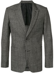 Ami Alexandre Mattiussi Half Lined Two Buttons Jacket Grey