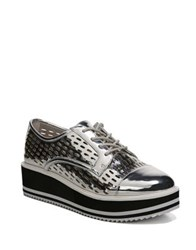 Fergie Dolly Lace Up Sneakers Silver
