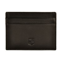 Huckle And Harper Black Lambskin Card Holder