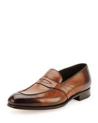 Tom Ford Charles Penny Loafer Brown