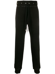 Versace Jeans Couture Metallic Thread Eyelet Detail Track Pants 60