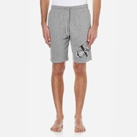 Calvin Klein Men's Large Logo Shorts Mod Grey Heather