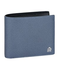 Dunhill Cadogan Leather Wallet Unisex Blue