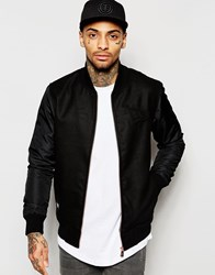 New Era Varsity Jacket Black
