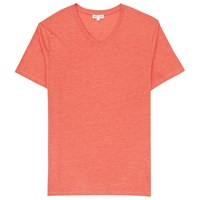 Reiss Dayton Marl V Neck T Shirt