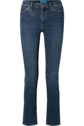 Mih Jeans M.I.H Daily High Rise Straight Leg Mid Denim