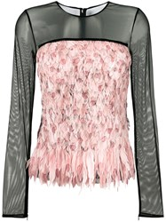 Tom Ford Degrade Smoke And Feather Top Black