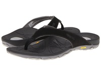 Vionic With Orthaheel Technology Bryce Black Men's Sandals