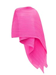 Issey Miyake Pleats Please Madame Pleated Scarf Pink