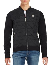 Bench Quilted Bomber Jacket