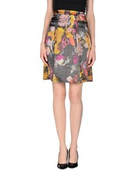 Galliano Skirts Knee Length Skirts Women