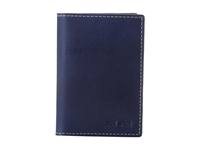 Jack Spade Mitchell Leather Vertical Flap Wallet