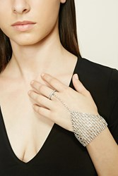 Forever 21 Studded Triangle Hand Chain