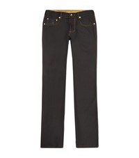 Billionaire Urban Fit Crested Jeans Male Black
