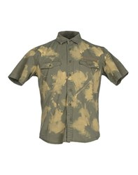 Phenomenon Shirts Shirts Men Military Green