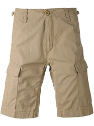 Carhartt Classic Chino Shorts Men Cotton Polyester 36 Nude Neutrals